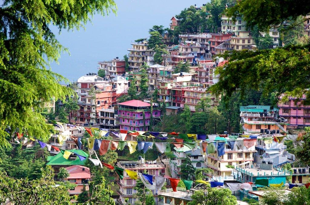 Colorful Houses McLod Ganj I