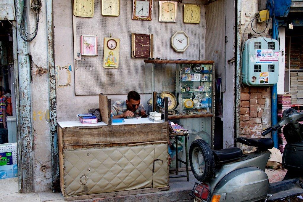 Indian Clockmaker