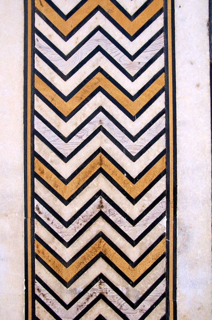 Ornamented Marble I
