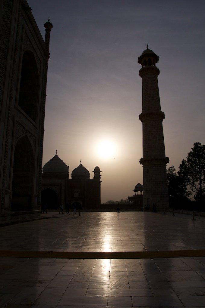 Taj Mahal Sunrise I